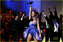 Katy Perry, Victoria's Secret Fashion Show 2010, Blue Dress, 01
