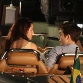 Kristen Stewart, Robert Pattinson, The Twilight Saga: Breaking Dawn, Rio Set, 01