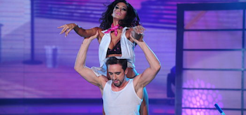 Silvina Escudero, Marcelo Polino, Showmatch Strip Dance