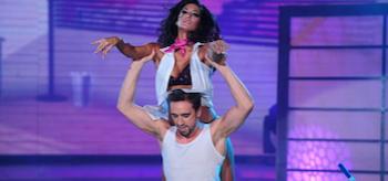 Silvina Escudero, Marcelo Polino, Showmatch Strip Dance
