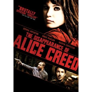The Disappearance of Alice Creed DVD Cover