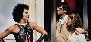 Tim Curry, Susan Sarandon, Barry Bostwick, The Rocky Horror Picture Show, header