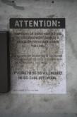 Attention Sign Iso-Cude Detention, Dredd, 2012