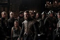 Sean Bean, Maisie Williams, Game of Thrones