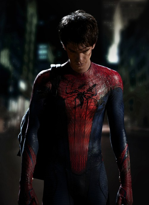 Andrew Garfield, Spider-Man, Costume