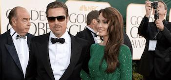 Angelina Jolie, Brad Pitt, Golden Globe 2011, 02