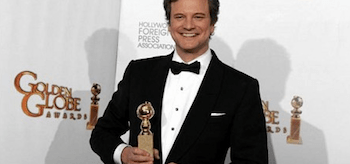 Colin Firth, Golden Globes 2011