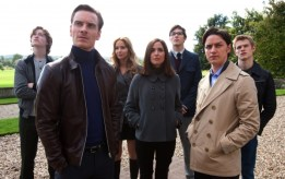 James McAvoy, Michael Fassbinder, Rose Byrne, Lucas Till, X-Men: First Class, 01