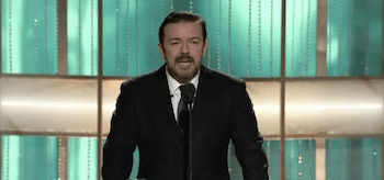 Ricky Gervais, Golden Globes 2011