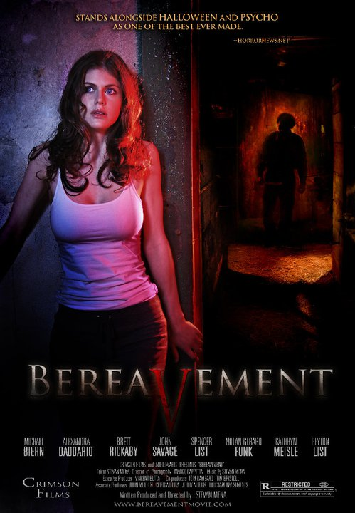 Alexandra Daddario, Bereavement Movie Poster