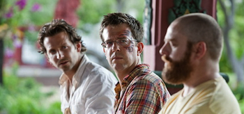 Bradley Cooper, Ed Helms, Zach Galifianakis, The Hangover 2