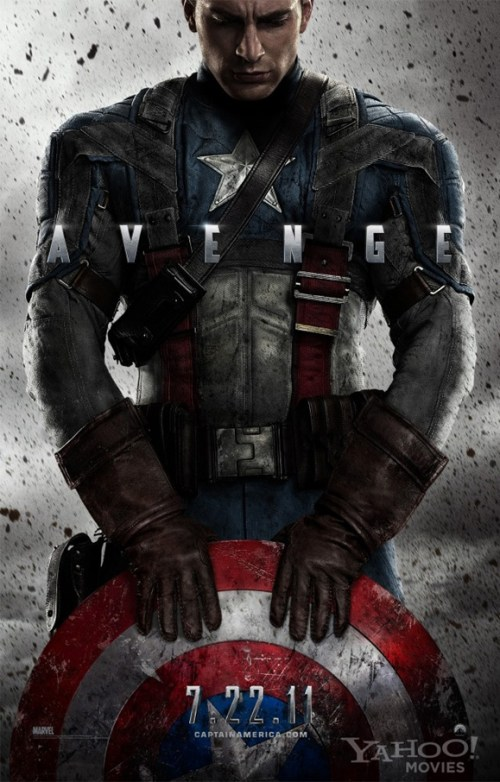 Captain America: The First Avenger, Official Movie Poster, 01