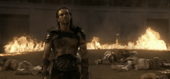 Dustin Clare, Spartacus: Gods of the Arena