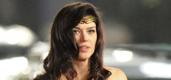 Adrianne Palicki, Costume, Wonder Woman 2011 Set, 11