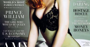Amy Adams, Vanity Fair, November 2008 Cover