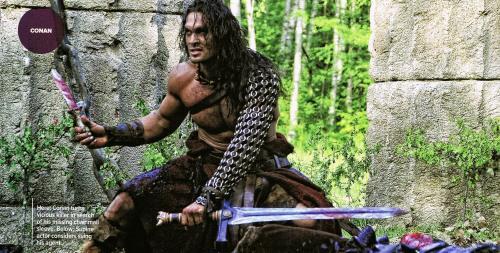 Jason Momoa, Conan the Barbarian, Empire Magazine April 2011, 03