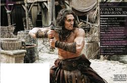 Jason Momoa, Conan the Barbarian, Empire Magazine April 2011, 04
