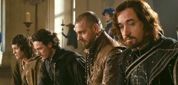 Logan Lerman, Ray Stevenson, Matthew MacFadyen, Luke Evans, The Three Musketeers