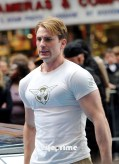 Chris Evans, Captain America: The First Avenger, New York City Set, 02