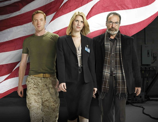 Claire Danes, Mandy Patinkin, Damian Lewis, Homeland, 01