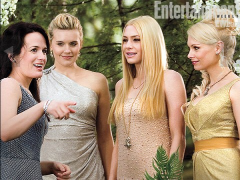 Elizabeth Reaser, Maggie Grace, Casey LaBow, MyAnna Buring, The Twilight Saga: Breaking Dawn, The Entertainment Weekly May 2011