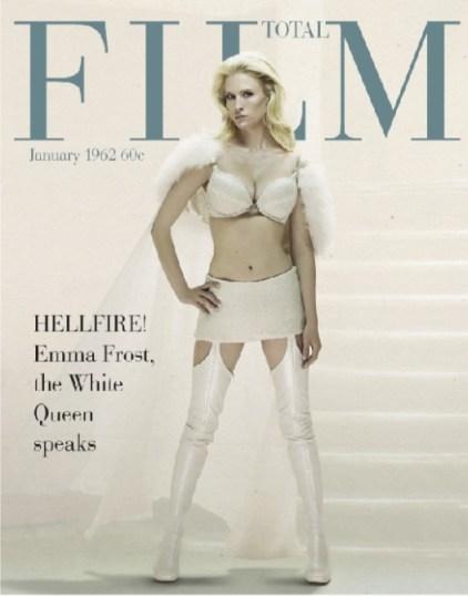 January Jones, Total Film Magazine June 2011, X-Men: First Class Cover