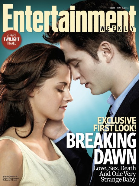 Kristen Stewart, Robert Pattinson, The Twilight Saga: Breaking Dawn, The Entertainment Weekly May 2011 Cover