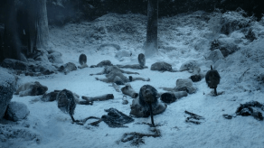 White Walkers Massacre, Game of Thrones, Winter is Coming, 01