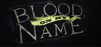 Blood on My Name Logo