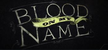 Blood on My Name Logo