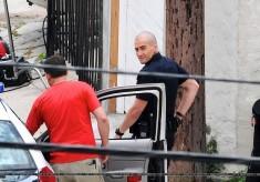 Jake Gyllenhaal, Michael Pena, End of Watch, Los Angeles Set Photo, 05