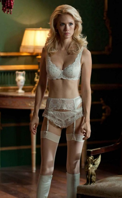 January Jones, Lingerie, Underwear, X-Men: First Class, 2011
