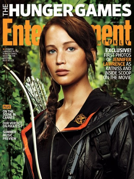 Jennifer Lawrence, The Hunger Games, Entertainment Weekly Cover, May 2011, 01