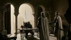Mark Addy, Nikolaj Coster-Waldau, Game of Thrones, Lord Snow, 01