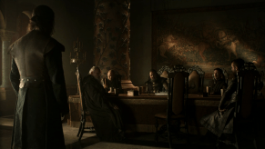 Sean Bean, Mark Addy, Conleth Hill, Aidan Gillen, Gethin Anthony, Game of Thrones, The Wolf and the Lion