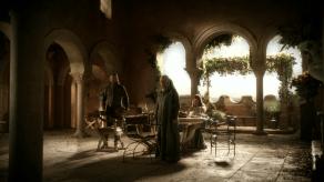 Sean Bean, Sophie Turner, Game of Thrones, Lord Snow, 01