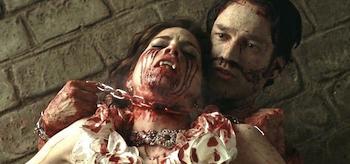 Stephen Moyer, Mariana Klaveno, True Blood