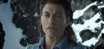 Jean-Claude Van Damme, Coors Light TV Commercial, 2011