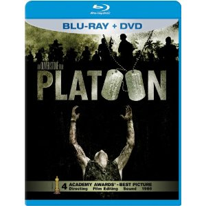 Platoon Blu-ray, DVD Cover