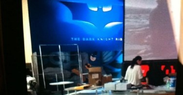 The Dark Knight Rises, 2012, Official Logo Glimpse
