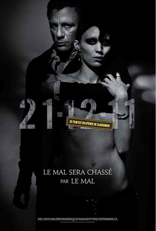The Girl With The Dragon Tattoo International Movie Poster, 01