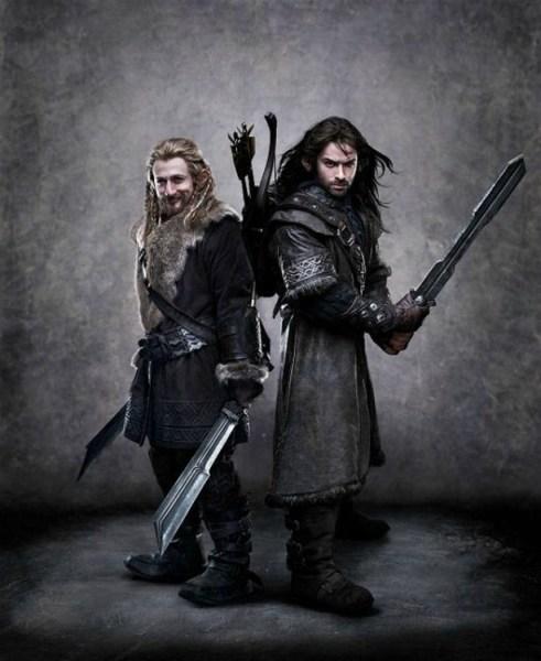 Dean O'Gorman, Aidan Turner, The Hobbit, 2012-2013, 01
