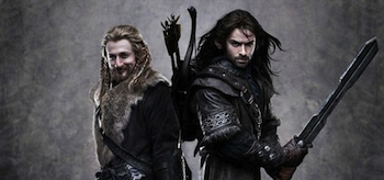 Dean O'Gorman, Aidan Turner, The Hobbit, 2012-2013, 02
