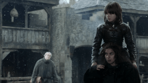 Isaac Hempstead-Wright, Natalia Tena, Game of Thrones, Fire and Blood, 01
