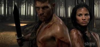 Liam McIntyre, Katrina Law, Spartacus: Vengeance, 2012