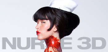 Paz De La Huerta, Nurse 3D, 2012, Movie Poster, 02