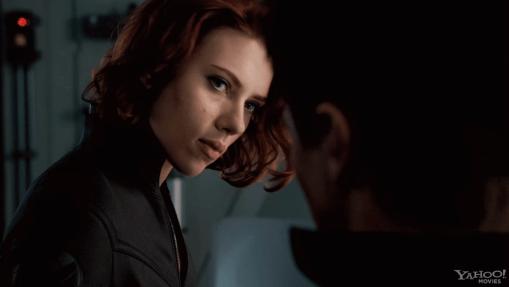 Scarlett Johansson, Jeremy Renner, The Avengers, 2012