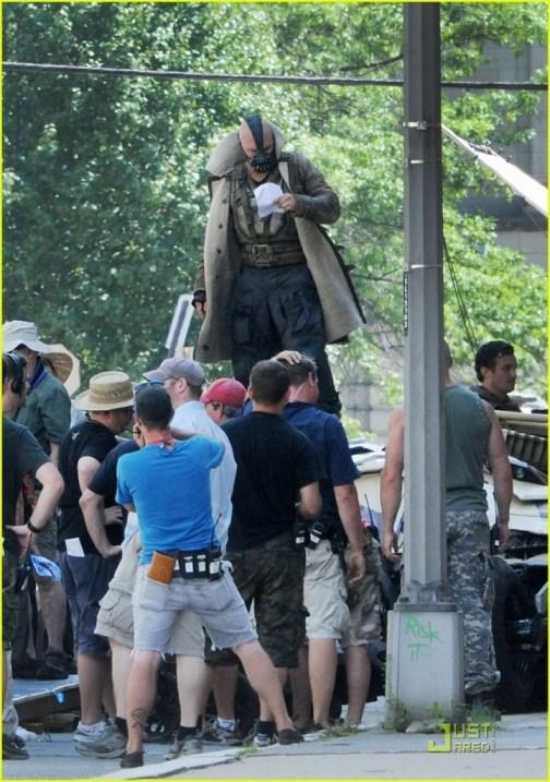 Tom Hardy, The Dark Knight Rises, 2012, Set, 01
