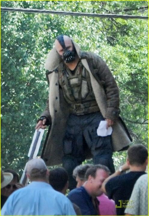 Tom Hardy, The Dark Knight Rises, 2012, Set, 03