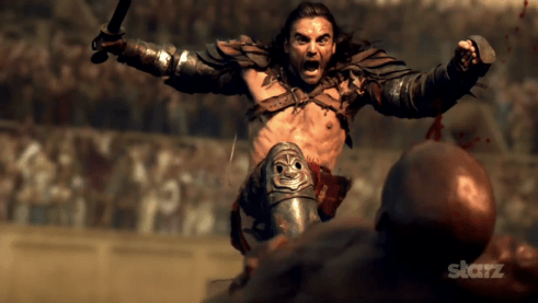 Dustin Clare, Spartacus Vengeance, 01